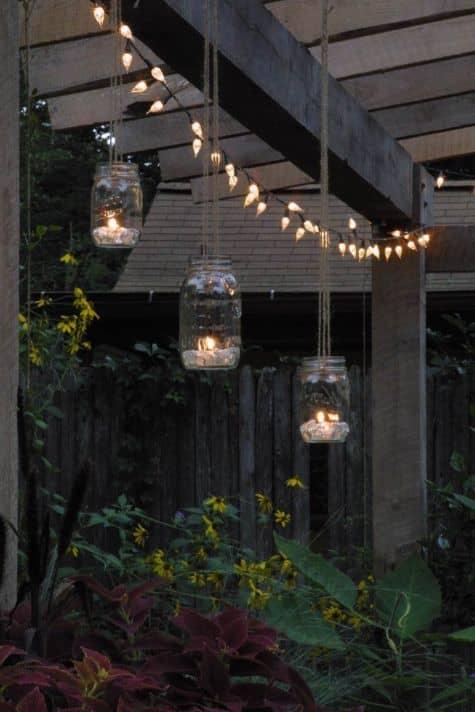 Un jardin au style romantique