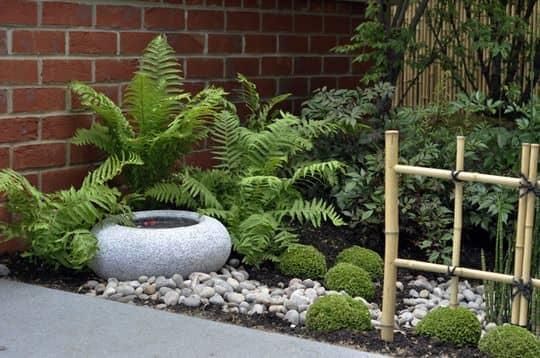 Un jardin au style zen