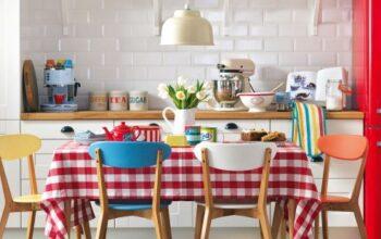 Comment meubler une petite cuisine?