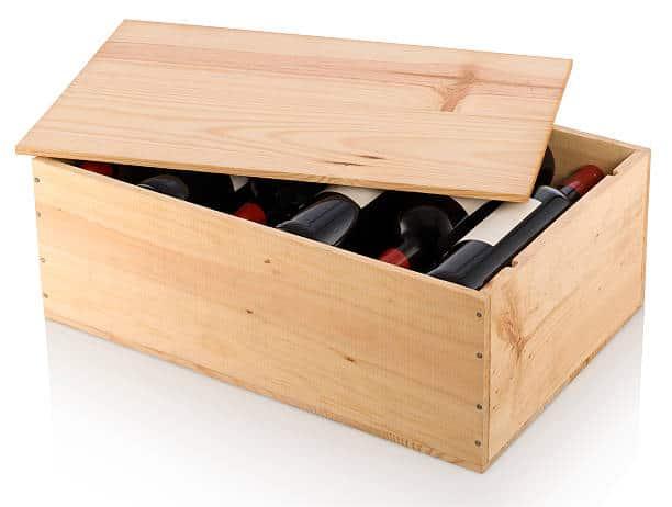 Boîte pour le vin