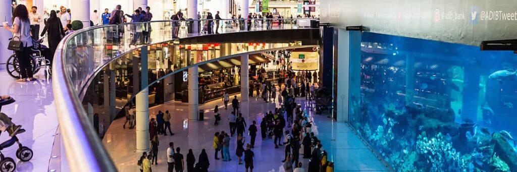 Faire du shopping au Dubai Mall