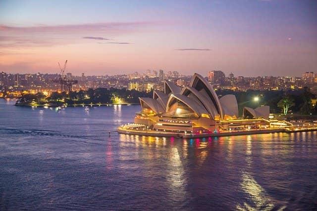 La métropole de Sydney, capitale économique de l'Australie