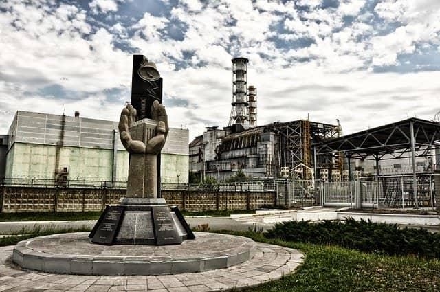 La centrale nucléaire de Tchernobyl, en Ukraine