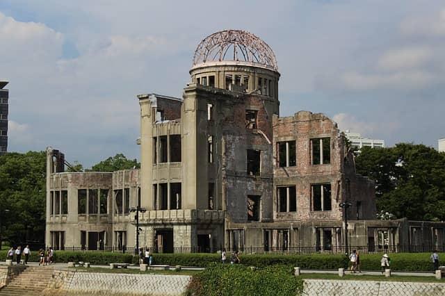 Le mémorial de la paix d'Hiroshima, au Japon