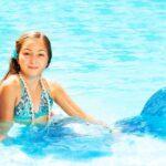 fille qui pratique le marmaiding