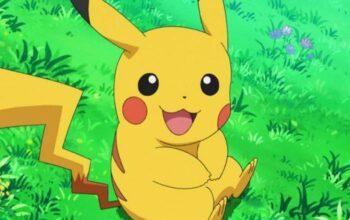 cartes pokémon Pikachu dans l'herbe